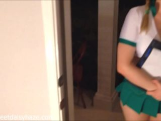 The excited boss fucked a bespectacled Secretary in the ass right on the table